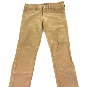 American Eagle OutfittersTan Skinny Jeans Q417